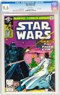 Modern Age (1980-Present):Science Fiction, Star Wars #48 (Marvel, 1981) CGC NM+ 9.6 White pages....