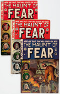 Golden Age (1938-1955):Horror, Haunt of Fear #11, 13, and 20 Group (EC, 1952-53) Condition:Average VG.... (Total: 3 Comic Books)