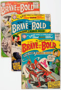 Golden Age (1938-1955):Miscellaneous, The Brave and the Bold Group of 5 (DC, 1955-57) Condition: Average GD-.... (Total: 5 Comic Books)