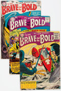 Golden Age (1938-1955):Miscellaneous, The Brave and the Bold Group of 8 (DC, 1955-59) Condition: Average GD/VG.... (Total: 8 Comic Books)