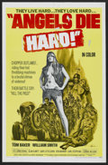 "Movie Posters:Action, Angels Die Hard (New World, 1970). One Sheet (27"" X 41""). Action...."