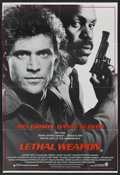 """Movie Posters:Crime, Lethal Weapon (Warner Brothers, 1987). Australian One Sheet (28"""" X 40""""). Crime. ..."""