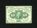 Fractional Currency:First Issue, Fr. 1242 10c First Issue Choice New....