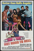 "Movie Posters:Cult Classic, Hot Rods to Hell (MGM, 1967). One Sheet (27"" X 41""). Cult Classic. ..."