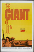 "Movie Posters:Drama, Giant (Warner Brothers, R-1970). One Sheet (27"" X 41""). Drama...."