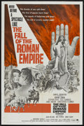 "Movie Posters:Historical Drama, The Fall of the Roman Empire (Paramount, 1964). One Sheet (27"" X41""). Historical Drama. ..."
