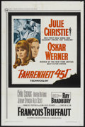 """Movie Posters:Science Fiction, Fahrenheit 451 (Universal, 1967). One Sheet (27"""" X 41""""). ScienceFiction. ..."""