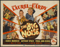 """Movie Posters:Comedy, The Big Noise (20th Century Fox, 1944). Title Lobby Card (11"""" X14""""). Comedy. ..."""