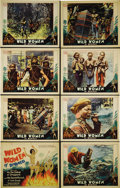 """Movie Posters:Documentary, Wild Women of Borneo (First Division Pictures, 1931). Lobby Card Set of 8 (11"""" X 14""""). This '30s documentary included scenes... (Total: 8 Items)"""