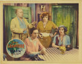 "Movie Posters:Drama, Rain (United Artists, 1932). Lobby Card (11"" X 14""). The dynamicsat play among the characters of this card is apparent, wit..."