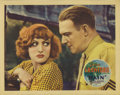 "Movie Posters:Drama, Rain (United Artists, 1932). Lobby Card (11"" X 14""). This lobbycard has the slightest of rounding on the corners and light ..."