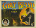 """Movie Posters:Romance, Coney Island (FBO, 1928). Title Lobby Card (11"""" X 14""""). """"ConeyIsland"""" stars Lois Wilson as a young woman swept up in the ro..."""