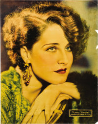 """Norma Shearer Personality Poster (MGM, 1932). Poster (22"""" X 28""""). MGM was at the forefront in Hollywood of pub..."""