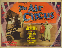 "The Air Circus (Fox, 1928). Title Lobby Card (11"" X 14""). A young Howard Hawks directs this high flyer which w..."