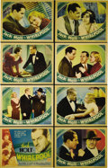 "Whirlpool (Columbia, 1934). Lobby Card Set of 8 (11"" X 14""). Columbia's 1934 drama stars Jack Holt as a shifty..."