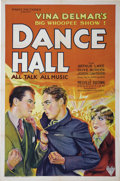"""Movie Posters:Drama, Dance Hall (RKO, 1929). One Sheet (27"""" X 41""""). This gorgeous stonelitho poster depicts the young Arthur Lake of soon-to-be ..."""