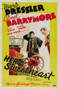 "Movie Posters:Comedy, Her Sweetheart, Christopher Bean (MGM, 1933). One Sheet (27"" X41""). This delightful comedy is a showcase for the very talen..."