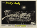 "Movie Posters:Drama, Baby Doll (Warner Brothers, 1956) British Quad (30"" X 40""). Carroll Baker's first major role was in this controversial film ..."