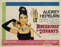 "Movie Posters:Comedy, Breakfast At Tiffany's (Paramount, 1961). Half Sheet (22"" X 28"").Truman Capote's best-selling novel is brought to life by d..."