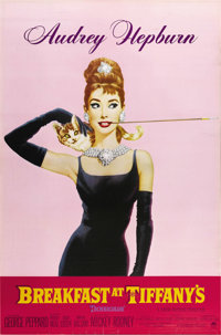 "Breakfast At Tiffany's (Paramount, 1961) Advance One Sheet (27"" X 41""). This double-sided advance one sheet is..."