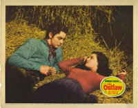 """The Outlaw (20th Century Fox, 1941). Lobby Card (11"""" X 14""""). The real-life story of Pat Garrett and Billy the..."""