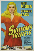 "Movie Posters:Romance, Sullivan's Travels (Paramount, 1941.) One Sheet (27"" X 41"").Considered by many to be writer-director Preston Sturges' fines..."