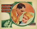 "Movie Posters:Comedy, Bureau of Missing Persons (Warner Brothers - First National, 1933). Lobby Cards (2) (11"" X 14""). A beautiful Bette Davis and... (Total: 2 Items)"