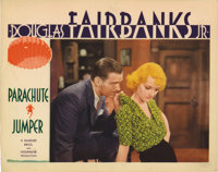 "Parachute Jumper (Warner Brothers, 1932). Lobby Card (11"" X 14""). Bette Davis and Douglas Fairbanks, Jr. are a..."