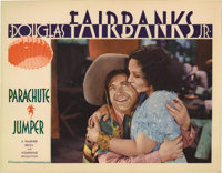 """Parachute Jumper (Warner Brothers, 1932). Lobby Cards (4) (11"""" X 14""""). This set of scene cards is very clean o..."""