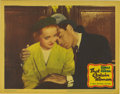 "Movie Posters:Drama, That Certain Woman (Warner Brothers, 1937). Lobby Card (11"" X 14"").This gorgeous linen stock lobby card features a truly to..."