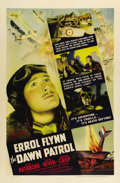 """, Dawn Patrol (Warner Brothers, 1938) One Sheet (27"""" X 41""""). Set in France during World War I, this film concerns the exploits..."""