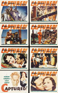 """Movie Posters:Drama, Captured! (Warner Brothers, 1933). Lobby Card Set of 8 (11"""" X 14"""").Captain Fred Allison (Leslie Howard) has been a P.O.W. d... (Total:8 Items)"""
