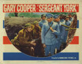 """Movie Posters:War, Sergeant York (Warner Brothers, 1941). Lobby Cards (4) (11"""" X 14"""").The story of a pacifist hillbilly sharpshooter who becam... (Total:4 Items)"""