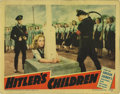 """Movie Posters:War, Hitler's Children (RKO, 1943). Lobby Card (11"""" X 14""""). In 1943, theplight of a fictional American girl declared legally Ger..."""