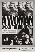 "Movie Posters:Drama, A Woman Under the Influence (Independent, 1974). One Sheet (27"" X41""). Director John Cassavetes said this was his most impo..."