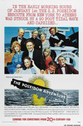 "Movie Posters:Action, The Poseidon Adventure (20th Century Fox, 1972). Advance One Sheet(27"" X 41""). A group of passengers on the ocean liner Pos..."