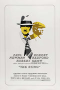 "Movie Posters:Crime, The Sting (Universal, 1974). International One Sheet (27"" X 41"").One of the joys of watching ""The Sting"" is slowly realizin..."