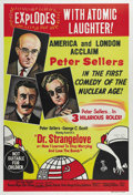 "Movie Posters:Comedy, Dr. Strangelove or: How I Learned to Stop Worrying and Love theBomb. (Columbia, 1964). Australian One Sheet (27"" X 40""). St..."