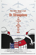 "Movie Posters:Comedy, Dr. Strangelove or: How I Learned to Stop Worrying and Love theBomb (Columbia, 1964). One Sheet (27"" X 41""). Comedic great ..."