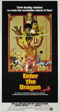 "Movie Posters:Action, Enter the Dragon (Warner Brothers, 1973). Three Sheet (41"" X 81"").Bruce Lee is anxious to participate in a martial arts tou..."