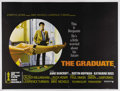 """Movie Posters:Comedy, The Graduate (United Artists, 1967). British Quad (30"""" X 40""""). MikeNichols captured the essence of the sixties where an ent..."""