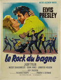 "Movie Posters:Elvis Presley, Jailhouse Rock (MGM, 1957). French Grande (47"" X 63""). The perfectblending of plot and musical numbers makes this the best ..."