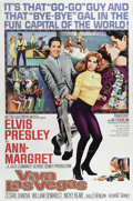"Movie Posters:Musical, Viva Las Vegas (MGM, 1964). One Sheet (27"" X 41""). Elvis andAnn-Margret -- what a combination for one of the better films o..."