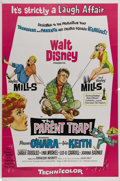 """Movie Posters:Comedy, The Parent Trap (Original) (Disney, 1961). One Sheet (27"""" X 41""""). Hayley Mills became a household name with her performance ..."""