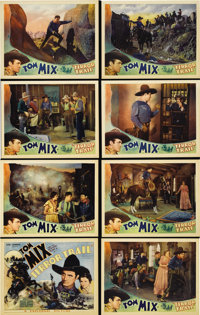 """Terror Trail (Universal, 1933). Lobby Card Set of 8 (11"""" X 14""""). Considered by many to be the greatest Western..."""