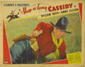 "Movie Posters:Western, Hop-a-long Cassidy (Paramount, 1935). Lobby Card (11"" X 14""). Incredibly Rare lobby card for the very first Hopalong Cassidy..."