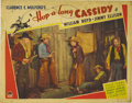 "Movie Posters:Western, Hop-a-long Cassidy (Paramount, 1935). Lobby Card (2) (11"" X 14"").Two incredibly rare lobby cards for the very first Hopalon...(Total: 2 Items)"
