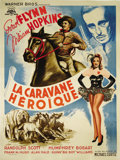 "Movie Posters:Western, Virginia City (Warner Brothers, Circa Late 1940s Post War). French Grande (47"" X 63""). Director Michael Curtiz demonstrated ..."