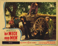 "Movie Posters:Drama, Of Mice and Men (United Artists, 1939). Lobby Cards (2) (11"" X14""). Burgess Meredith and Lon Chaney, Jr. star in this class...(Total: 2 Items)"