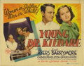 "Movie Posters:Drama, Young Dr. Kildare (MGM, 1938). Title Card and Lobby Cards (5) (11""X 14""). Lew Ayres made his first appearance in the immens...(Total: 5 Items)"